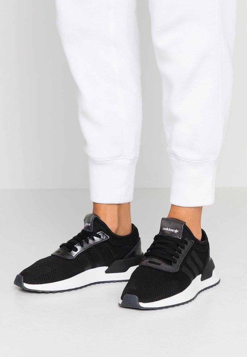 adidas Originals - U_PATH X RUNNING-STYLE SHOES - Trainers - core black/purple beauty/footwear white