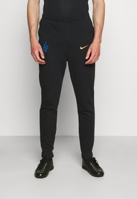 Nike Performance - INTER MAILAND PANT - Club wear - black/truly gold - 0