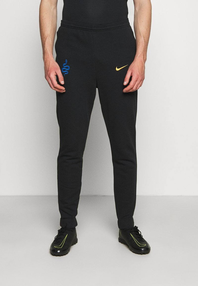 Nike Performance - INTER MAILAND PANT - Club wear - black/truly gold