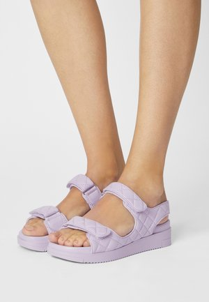 KIKII - Platform sandals - light purple
