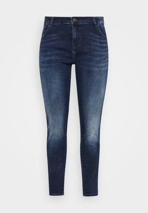 NMLUCY  - Jeans Skinny Fit - dark-blue denim