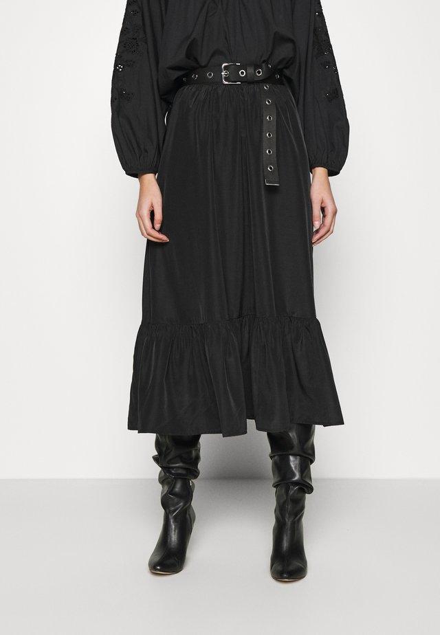 SKIRT ETOI - Spódnica trapezowa - black