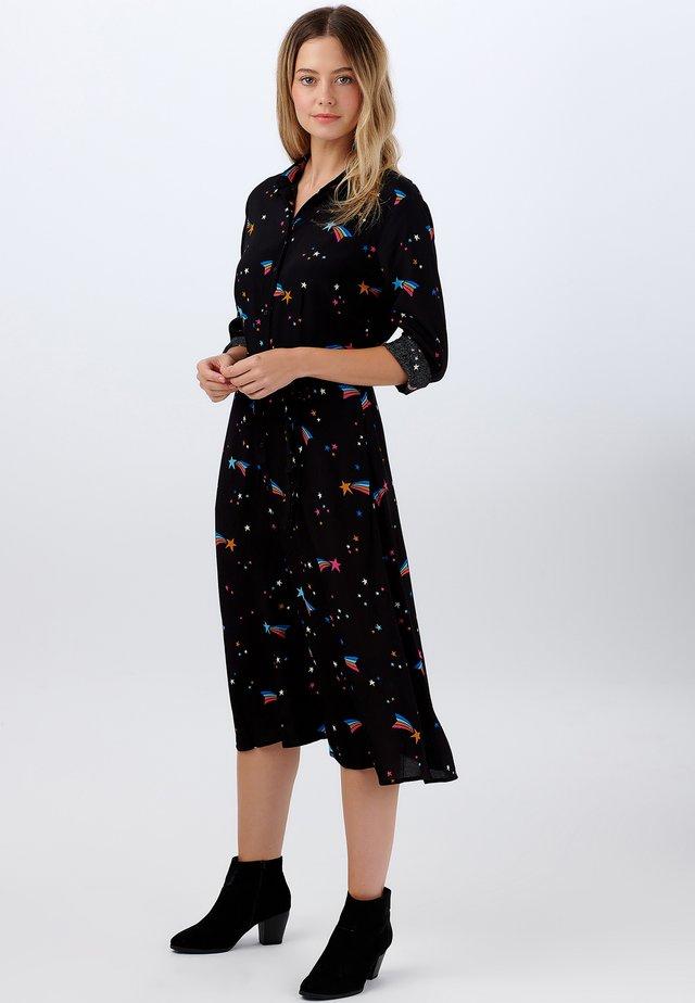 ELSPETH  WISHING ON A STAR - Shirt dress - black