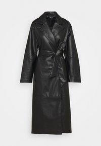 KIM COAT - Classic coat - black dark