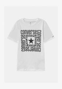 Converse - LOCKUP - T-shirt imprimé - white - 0