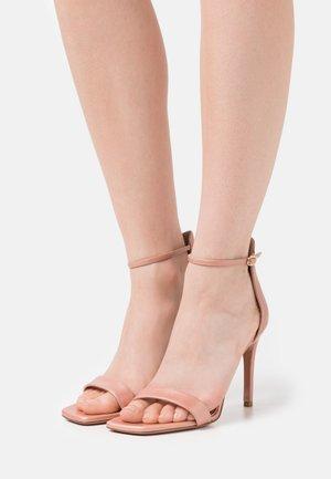 CALDA - High heeled sandals - sirio rosa