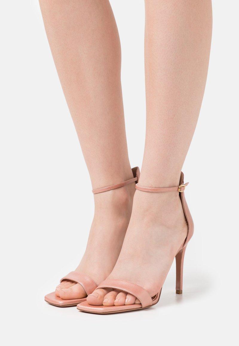Oxitaly - CALDA - Sandály na vysokém podpatku - sirio rosa
