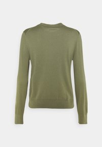 Marc O'Polo - LONGSLEEVE ROUND NECK - Jumper - dried sage - 1