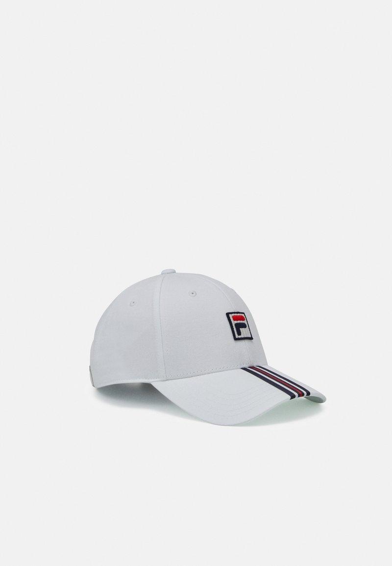 Fila - HERITAGE CAP WITH BOX LOGO UNISEX - Cap - blanc de blanc