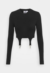 The Ragged Priest - LONGSLEEVE RINGER TRIGGERS - Top s dlouhým rukávem - black - 3