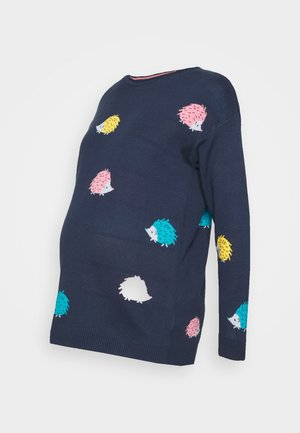 EMILY JUMPER - Trui - blue/multi coloured