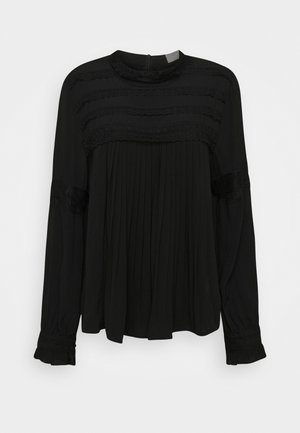 MILLA BLOUSE - Bluser - pitch black