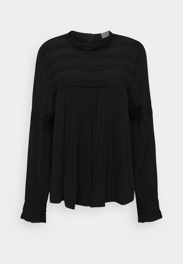 MILLA BLOUSE - Camicetta - pitch black