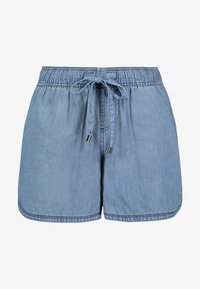 Sublevel - Denim shorts - middle-blue - 4
