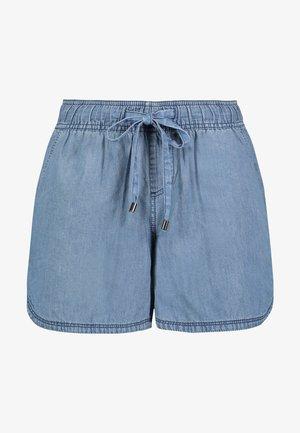 Denim shorts - middle-blue