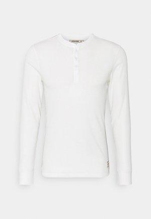 JACHENRIK HENLEY - Pyžamový top - blanc de blanc