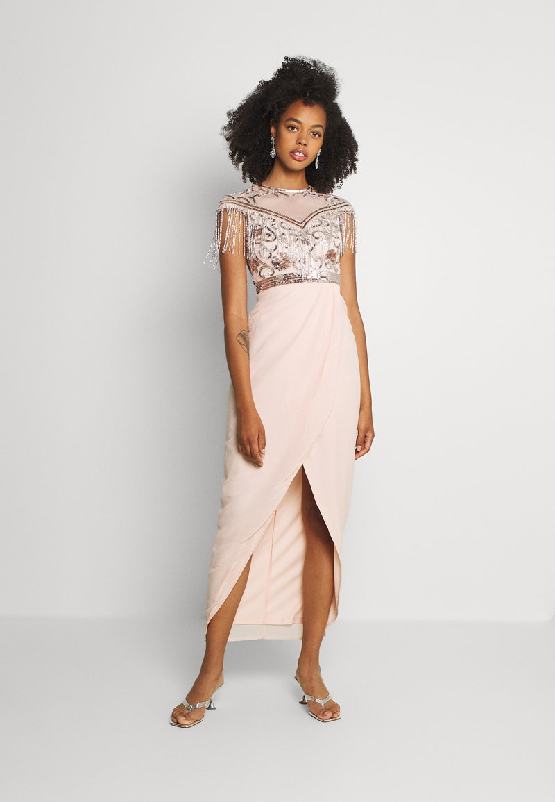 Lace & Beads - SAVANNAH - Occasion wear - nude/silver