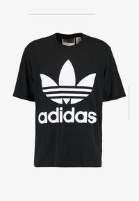 adidas Originals - OVERSIZED TEE - T-Shirt print - black - 3
