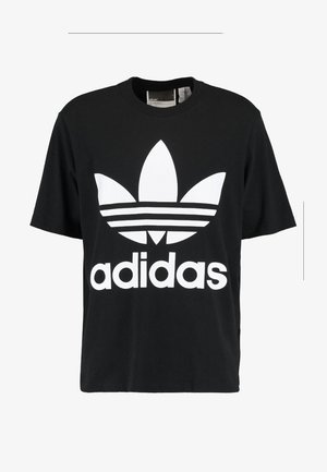 OVERSIZED TEE - Print T-shirt - black