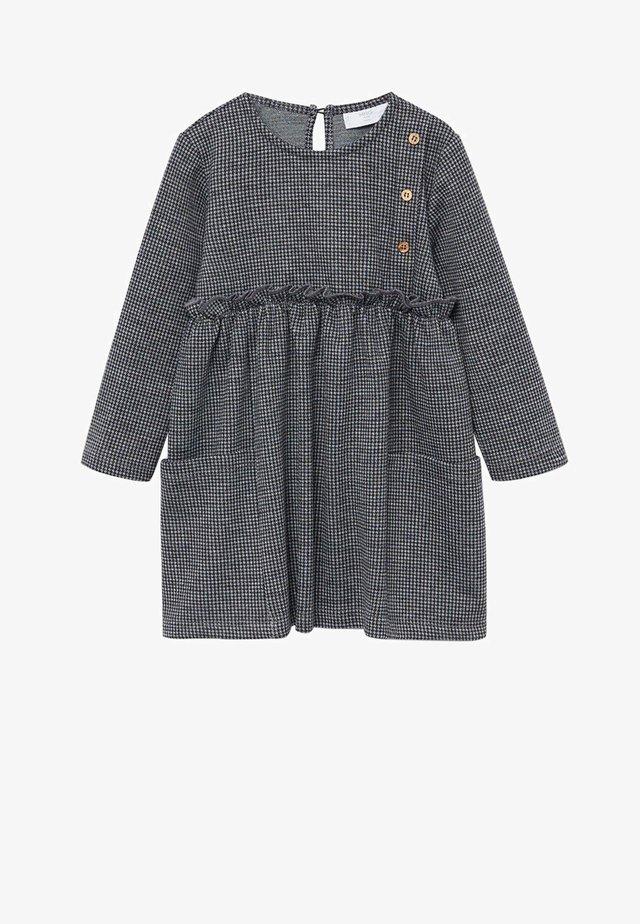 LINA - Freizeitkleid - grigio antracite