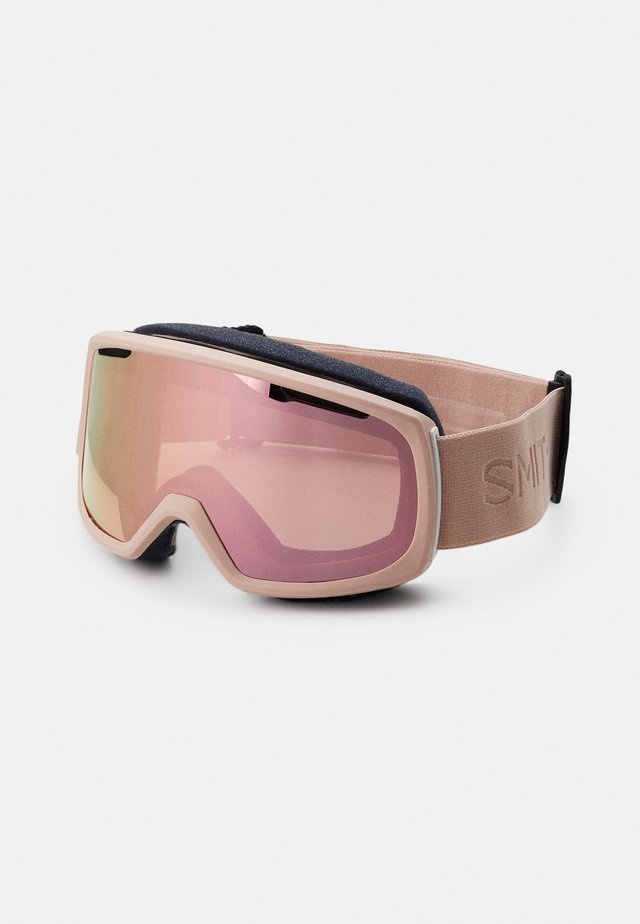 RIOT UNISEX - Skibrille - everyday rose/gold mirror yellow