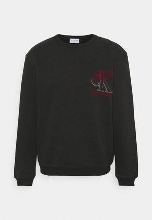 DEGRADE BOLD BACK GRAPHIC UNISEX - Sweatshirt - black