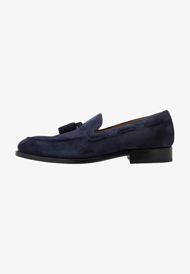 Smart slip-ons - venzia dark blue