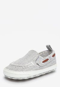 Next - GREY PRAM SLIP-ON BOAT SHOES (0-24MTHS) - Boat shoes - grey - 2