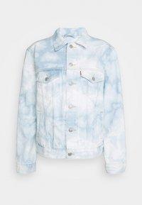 EX BOYFRIEND TRUCKER - Denim jacket - scribble down