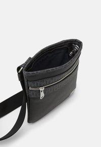 Tommy Hilfiger - MONOGRAM MINI CROSSOVER UNISEX - Across body bag - black - 2