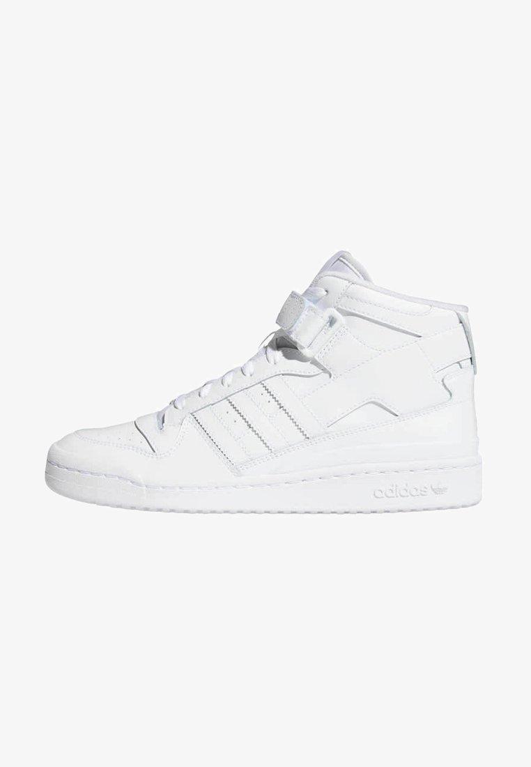 adidas Originals - FORUM MID UNISEX - Sneakers alte - ftwr white/ftwr white/ftwr white