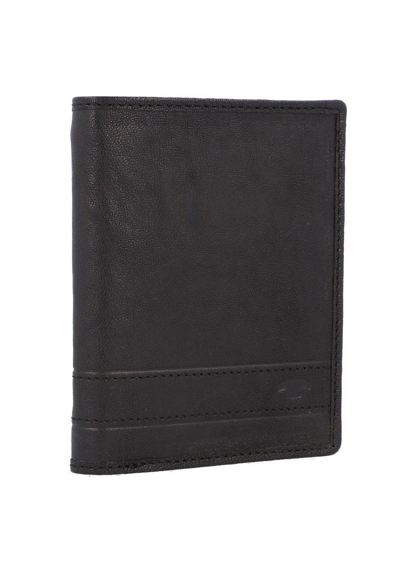 TOM TAILOR - TERRY GELDBÖRSE RFID LEDER 10 CM - Wallet - black