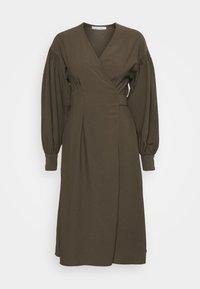 MERRILL DRESS - Day dress - black olive