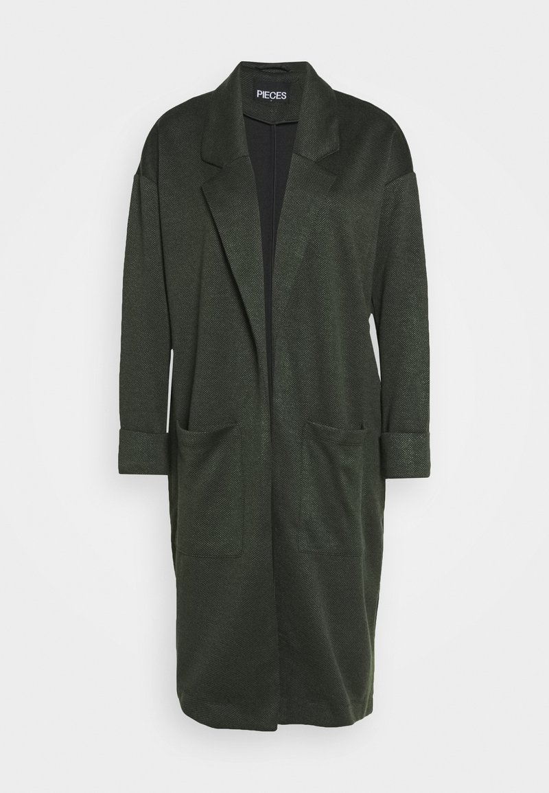 PIECES Tall - PCDORITA COATIGAN - Kåpe / frakk - duffel bag