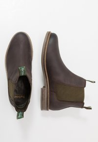 Barbour - FARSLEY - Classic ankle boots - choco - 1