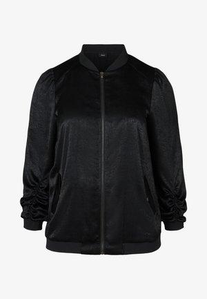 MIT REISSVERSCHLUSS - Bomber Jacket - black