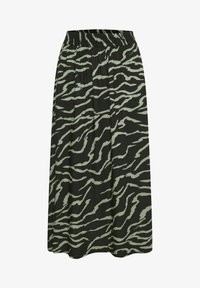 Kaffe - Maxi skirt - black  hedge zebra print - 4
