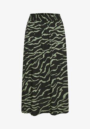 Maxirok - black  hedge zebra print