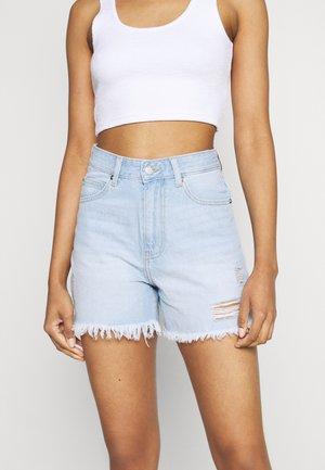 NORA - Shorts di jeans - superlight blue