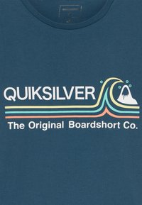 Quiksilver - STONE COLD - Print T-shirt - majolica blue - 3
