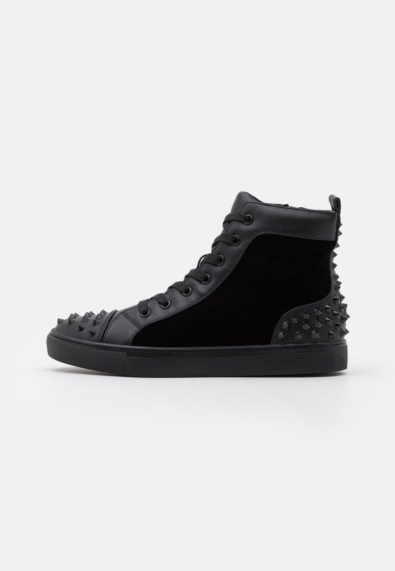 Steve Madden - CORDZ - Sneakersy wysokie - black