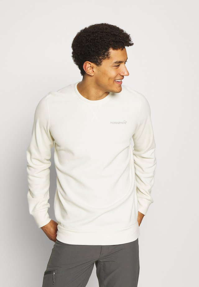 CREW NECK UNISEX - Sweater - snowdrop