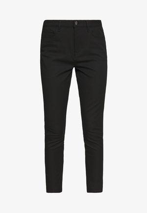 GABARDINE PANT - Spodnie materiałowe - black