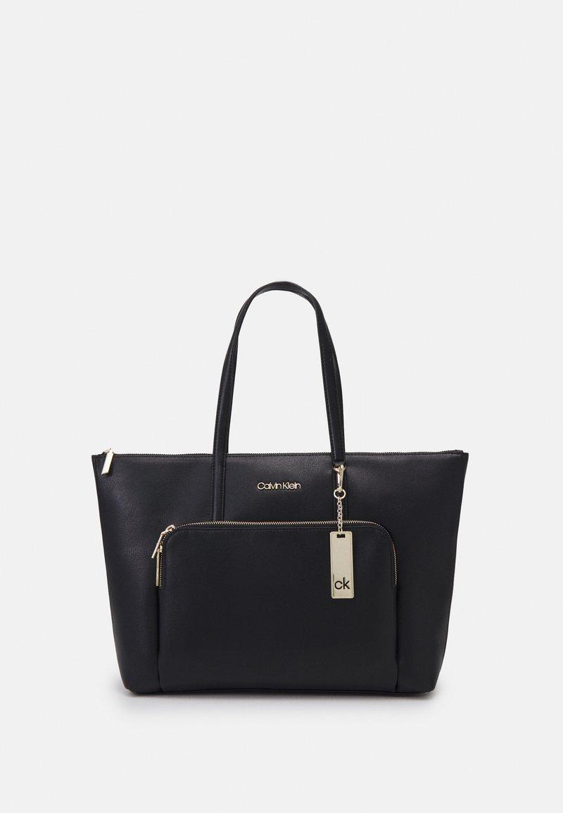 Calvin Klein - SHOPPER - Shopping bag - black