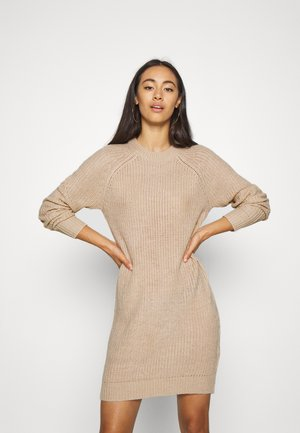 Jumper dress - tan