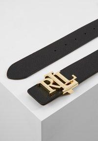 Lauren Ralph Lauren - Belt - black/lauren tan - 2