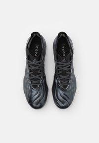adidas Performance - COPA SENSE.1 FG - Fodboldstøvler m/ faste knobber - core black/grey five - 3