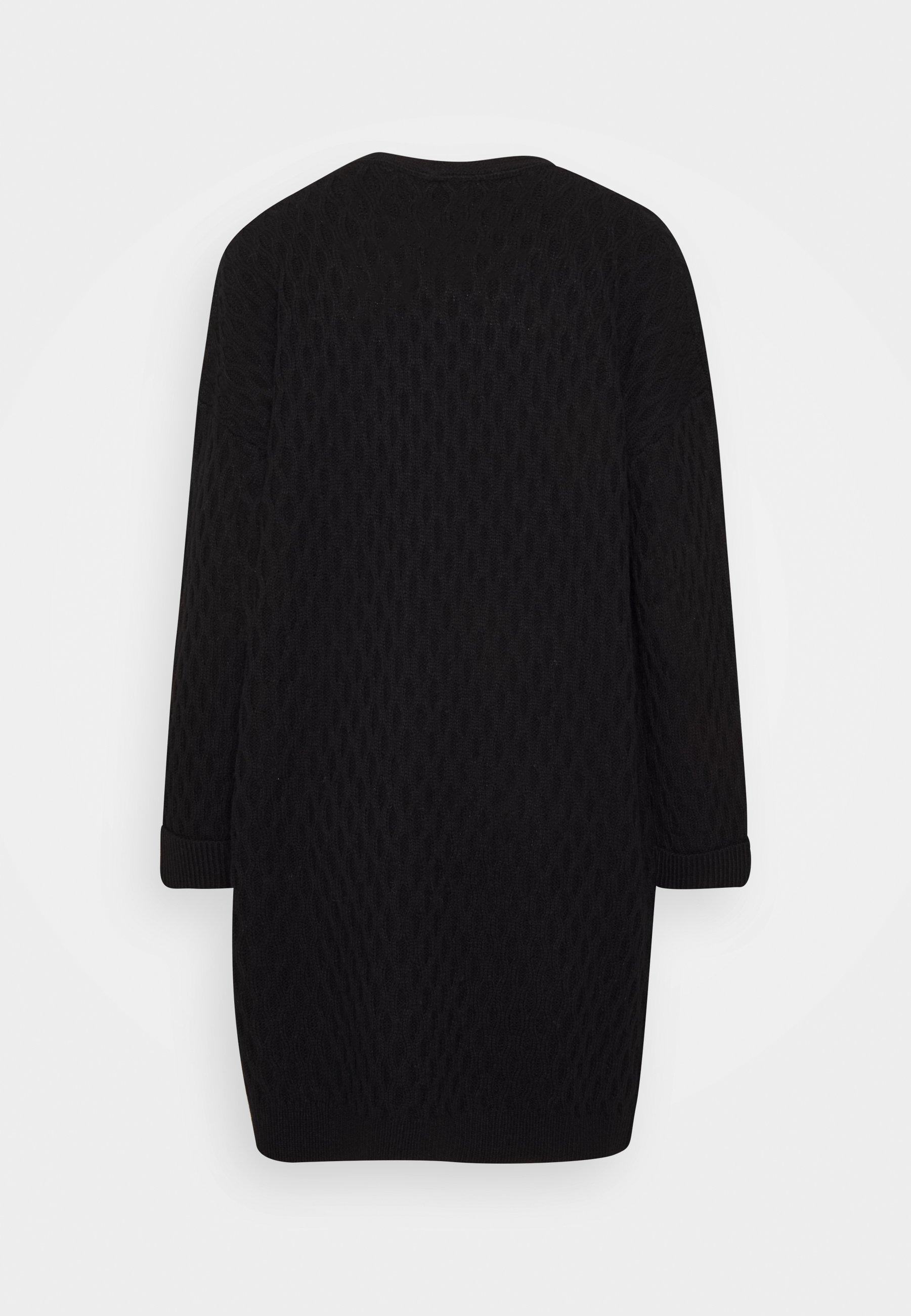 Fashion Union Awesome - Cardigan Black