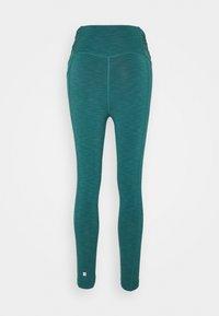 Sweaty Betty - SUPER SCULPT 7/8 YOGA LEGGINGS - Leggings - june bug green - 1