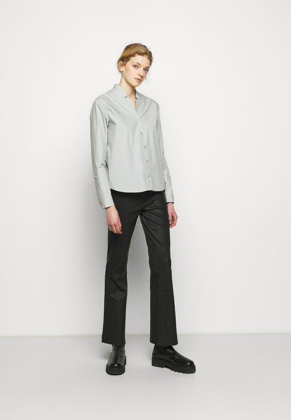 2nd Day BETH THINK TWICE - Koszula - puritan gray/jasnozielony QEVS